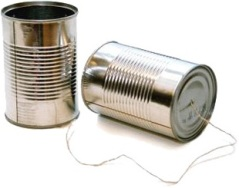 tin can phone by K!T on flickr